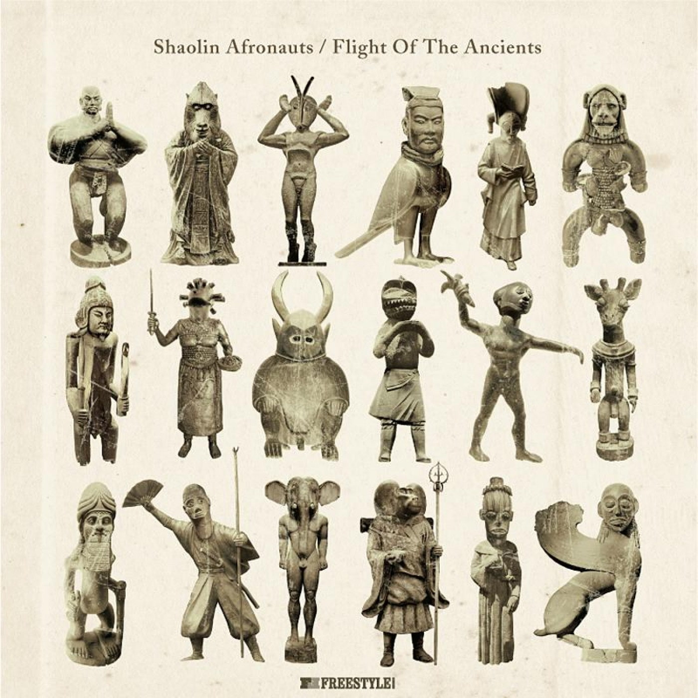 The Shaolin Afronauts – Flight of The Ancients (Freestyle Records)